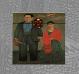 Frida and Diego Rivera Folk Box