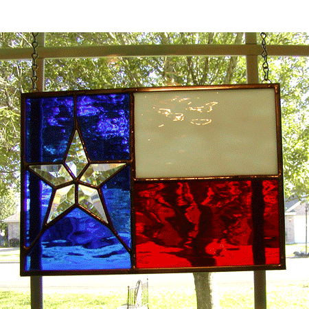 Stained Texas Flag