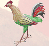 Metal Spanish Chicken