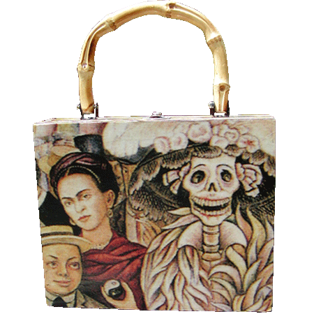 Kahlo Box Purse