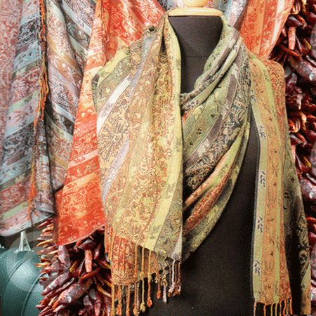 Fashionable Viscose Shawls